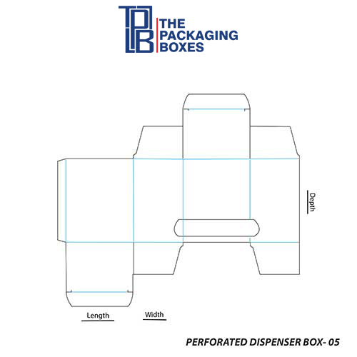 Perforated-Dispenser-Box-Template