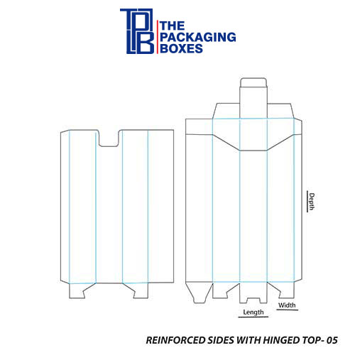 Reinforced-Sides-With-Hinged-Top-template