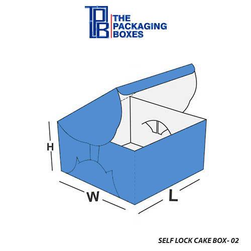 Self-Lock-Cake-Box-Design