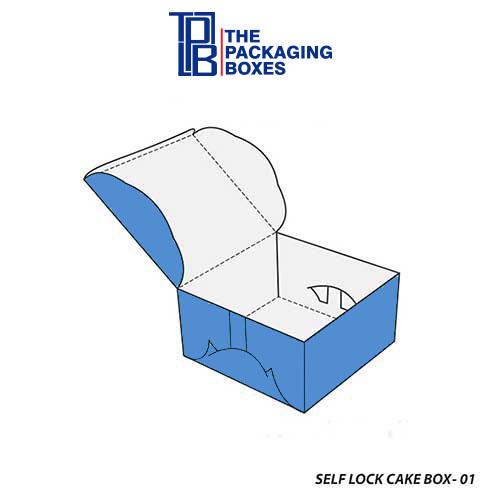 Self-Lock-Cake-Box